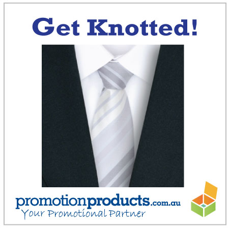 Image of promotional tie