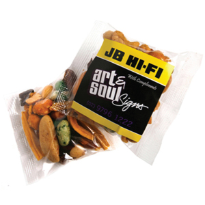 A picture of a snack pack supplied to JB Hifi