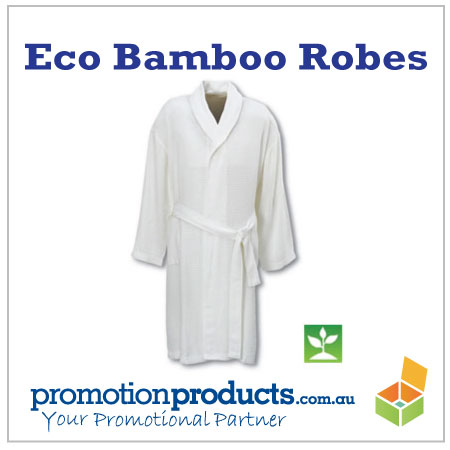 picture of an environmentally friendly robe made from bamboo