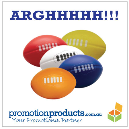 picture of promotional stress footy balls