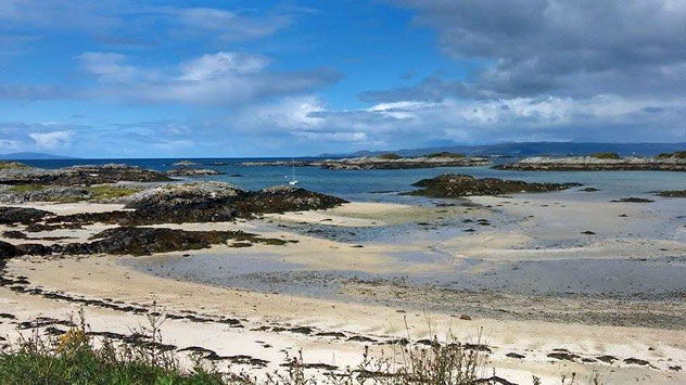 Photograph of the Sands of Morar