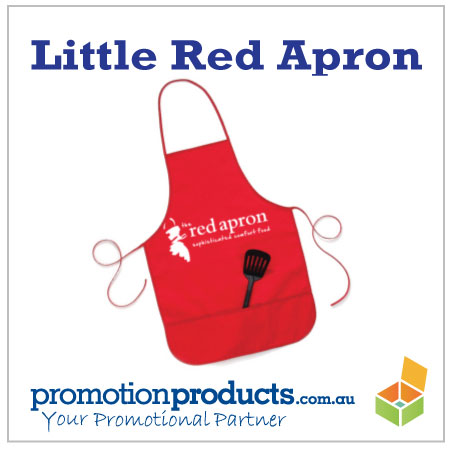 picture of a little red apron