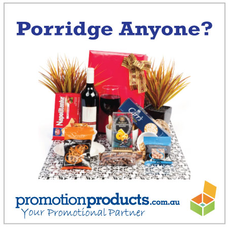photograph of a corporate hamper