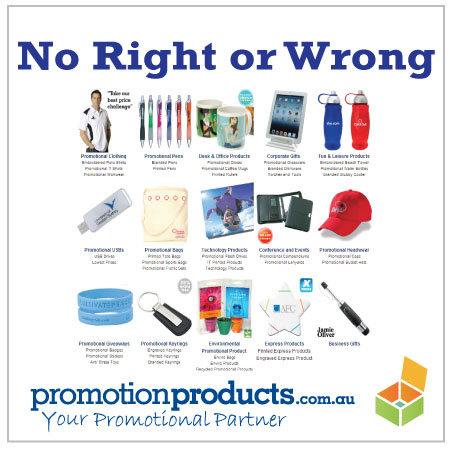 picture of many promotional items