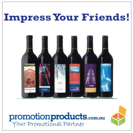 picture of custom wine labelling