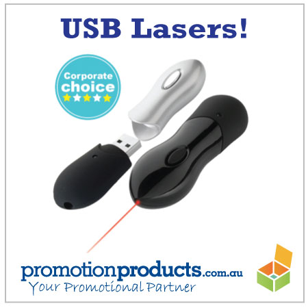 image of a laser presenter