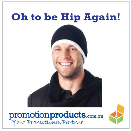 picture of a promotional beanie