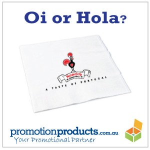 promo paper napkin