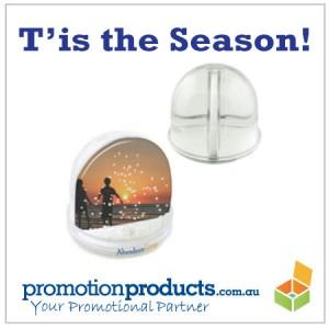 promo snow globe