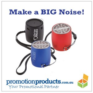 small promotional speakers