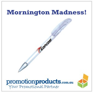 a promotional pen for giveaways