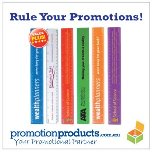 image of promotional rulers