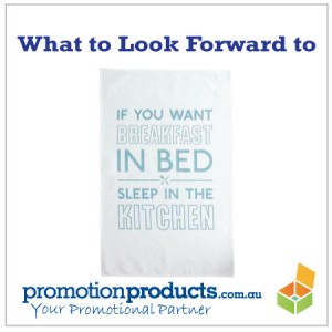picture of a tea towel used for promotional purposes