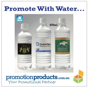 image of promotional custom water