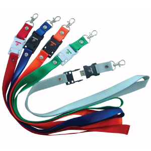 picture of usb drives in a lanyard