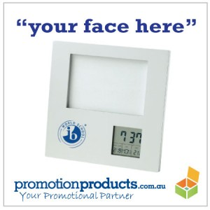a promotional photoframe
