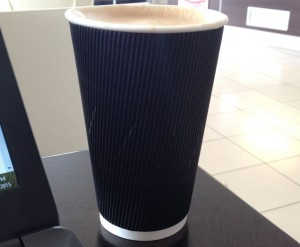 picture of an unbranded paper cup