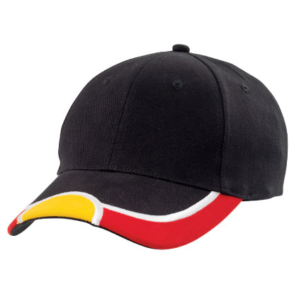 Aboriginal design baseball cap