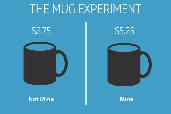 The Mug Experiment Graphic