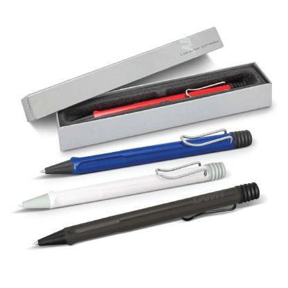 Promotional LAMY pen colour range