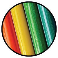 Plastic pen material