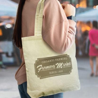 Premium promotional calico bag