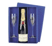 champagne class gift set