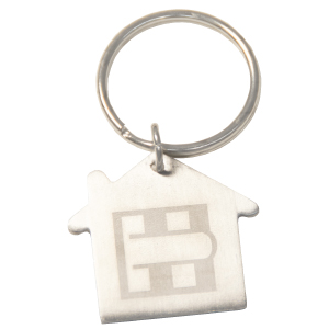 Real Estate Metal Keyrings