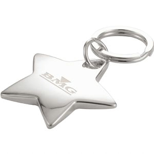 Star Shaped Key Rings