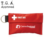 34 Piece First Aid Pouch on Keyrings