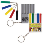 5 Piece Screwdriver Sets Keytags