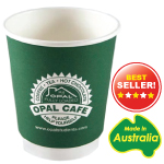 8 oz Double Wall Paper Coffee Cups