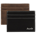 AGRADE Sueded Leatherette Card Wallets