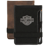 AGRADE Sueded Leatherette Pocket Memo Pad
