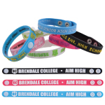 Adjustable 12mm PVC Wrist Bands