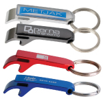 Aluminium Economy Pop Top Keyrings