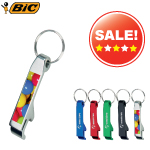 Bic Aluminium Key Ring Bottle Opener - britePix