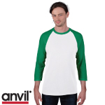 Anvil 3/4 Sleeve Tee Shirts