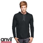 Anvil Hooded Tee Shirts