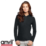 Anvil Ladies Hooded Tee Shirts