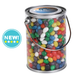 Assorted Coloured Mini Jelly Beans in 1 Litre Drum