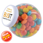 Assorted Colour Rainbow Chews In Containers