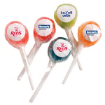 Ball Lollipop with Sticker