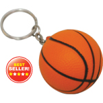 Basketball Foam Keyrings