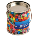 Big PVC Bucket Filled with Choc Beans 875G