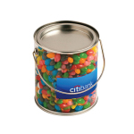 Big PVC Bucket Filled with Jelly Beans 950G