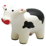 Black Cow Stress Toys
