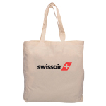 Calico Shopping Bag with Gusset
