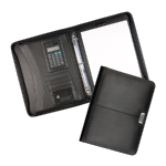 Essex Leather Zippered 3 Ring Compendiums