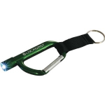 Flashlight Carabiners with Straps